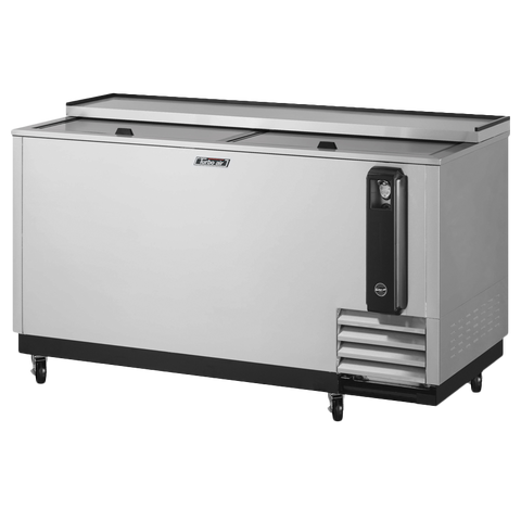 "superior-equipment-supply - Turbo Air - Turbo Air Stainless Steel 65"" Wide Bottle Cooler"