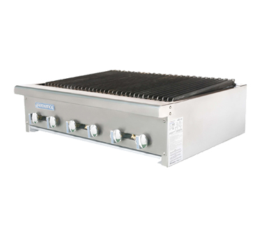 "superior-equipment-supply - Turbo Air - Turbo Air Stainless Steel 36"" Wide Radiant Charbroiler Gas"