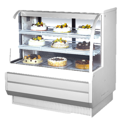 "superior-equipment-supply - Turbo Air - Turbo Air 48.5"" Wide Full Service Refrigerated Bakery Case"