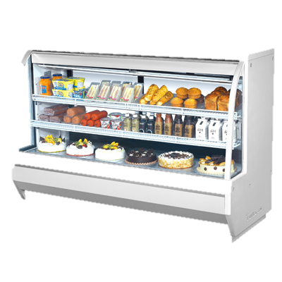 "superior-equipment-supply - Turbo Air - Turbo Air 72.5"" Wide Stainless Steel Refrigerated Deli Case"