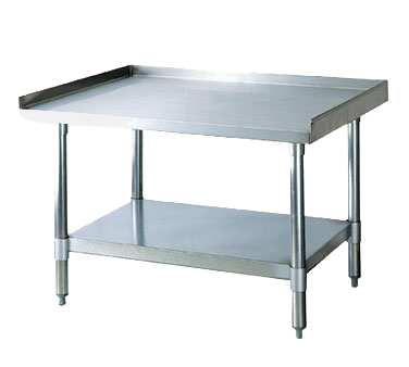 "Turbo Air Stainless Steel 30"" x 72"" Equipment Stand"