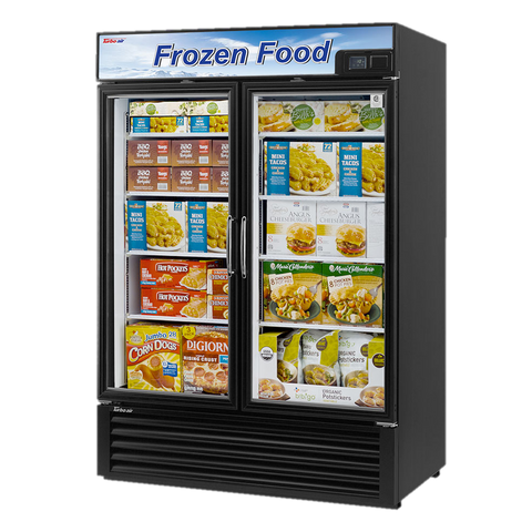 "superior-equipment-supply - Turbo Air - Turbo Air 54.38"" Wide Two-Section Freezer Merchandiser"