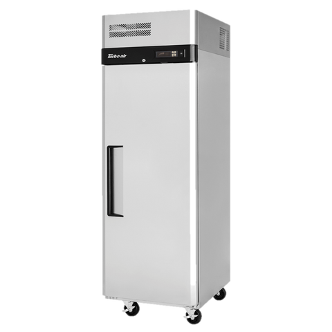 "superior-equipment-supply - Turbo Air - Turbo Air 25.25"" Wide One-Section Stainless Steel Reach-In Freezer"