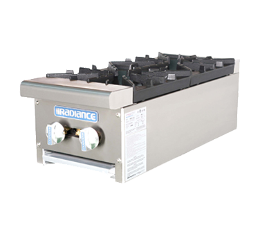 superior-equipment-supply - Turbo Air - Turbo Air Two-Burner Stainless Steel Countertop Hotplate