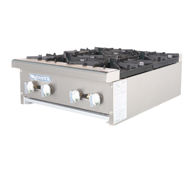 Turbo Air Four-Burner Stainless Steel Countertop Hot Plate