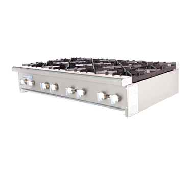 Turbo Air Eight-Burner Stainless Steel Hot Plate