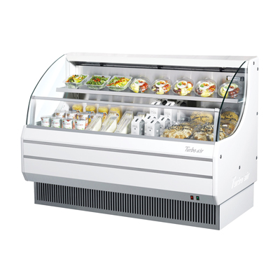 Turbo Air 12.3 Cubic Feet White Open Merchandiser