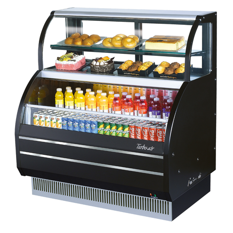 "superior-equipment-supply - Turbo Air - Turbo Air 62.63"" Wide Open Merchandiser Combination Case"