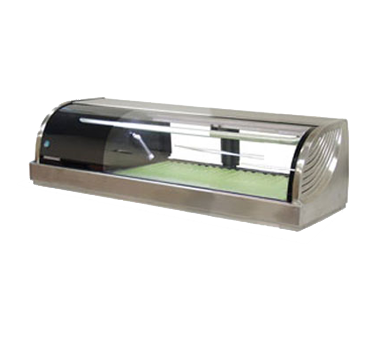 "superior-equipment-supply - Hoshizaki - Hoshizaki 59.1"" Wide Stainless Steel Refrigerated Sushi Display Case"