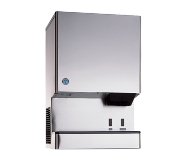 Hoshizaki Opti-Serve Cubelet-Style Ice Maker/Water Dispenser LED Sensor Operation 801 lb. Production Capacity