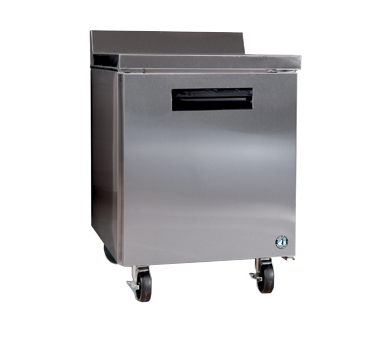 "superior-equipment-supply - Hoshizaki - Hoshizaki Stainless Steel 27"" Wide Worktop Refrigerator With Cylinder Door Lock"