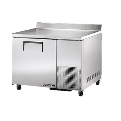 "superior-equipment-supply - True Food Service Equipment - True Stainless Steel 44"" Wide One Section Deep Work Top Refrigerator"