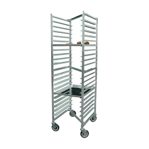 "BK Resources Full Height Nesting Bun Pan Rack Front Load 20-1/4"" Wide"