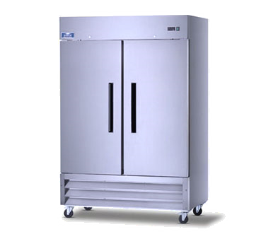 superior-equipment-supply - Arctic Air - Arctic Air Refrigerator Reach-In, Two-Section, 49.0 Cubic Feet Capacity, Stainless Steel Exterior