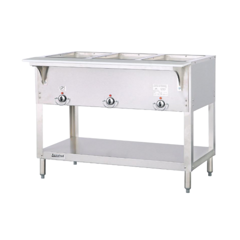 "Duke Aerohot™ Hot Food Station 34""H x 44.38""W x 22.44""D Stainless Steel With Carving Board"