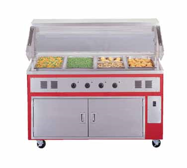 superior-equipment-supply - Piper Products - Piper Products Electric Three Well  Reflections Hot Food Serving Counter