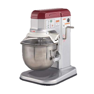 MVP Group Stainless Steel Electric Countertop  7 Quart Planetary Mixer
