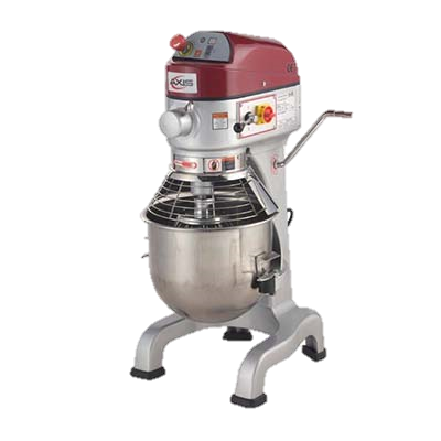 MVP Group Stainless Steel Electric Floor Model 20 Quart Axis Planetary Mixer