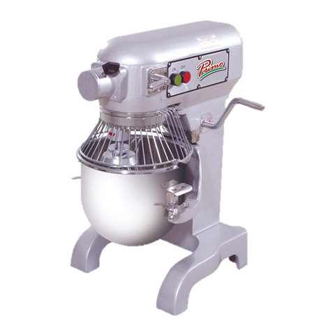 MVP Stainless Steel Electric 10 Quart Planetary Mixer