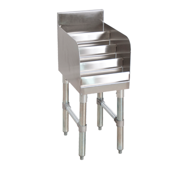 superior-equipment-supply - BK Resources - BK Resources Stainless Steel Underbar Liquor Bottle Display Unit 24""