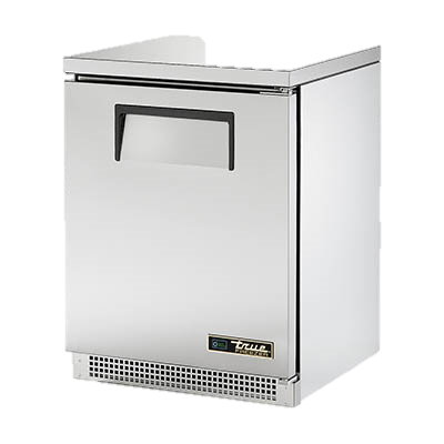 "superior-equipment-supply - True Food Service Equipment - True Stainless Steel One Section 24"" Wide Undercounter Freezer"