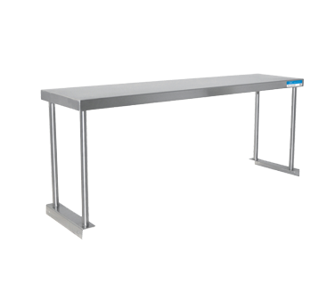 "BK Resources Overshelf 48""W x 18""D x 18""H Stainless Steel"