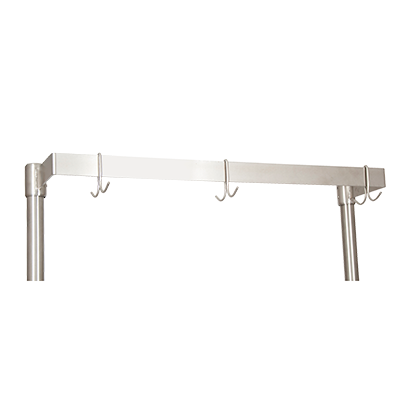 "superior-equipment-supply - BK Resources - BK Resources Pot Rack Table Mount, 48""W x 50""H, Stainless Steel"