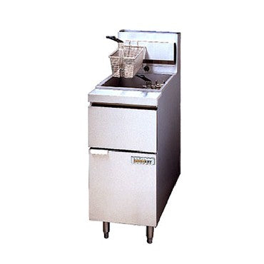 superior-equipment-supply - Superior Equipment & Supply - Used Anets Electric Fryer 50 lb Oil Capacity 3-Phase