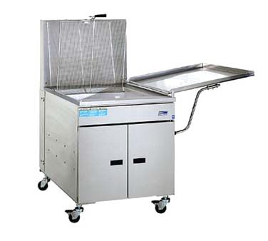 superior-equipment-supply - Pitco Fryers - Pitco Stainless Steel Gas Doughnut Fryer Floor Model 150 lb. Oil Capacity