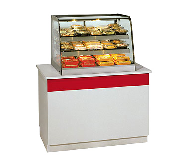 "superior-equipment-supply - Federal Industries - Federal Countertop Tempered Curved Front Glass Hot Merchandiser 47""W"