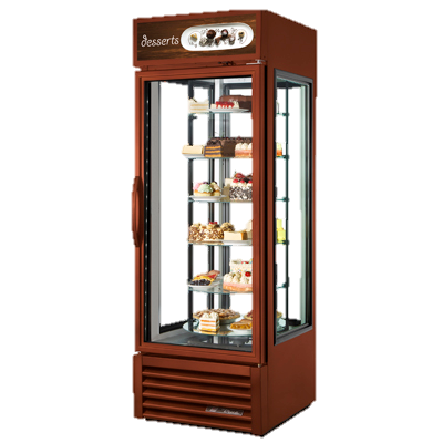 superior-equipment-supply - True Food Service Equipment - True Reach-In One-Section Glass Door Specialty Merchandiser
