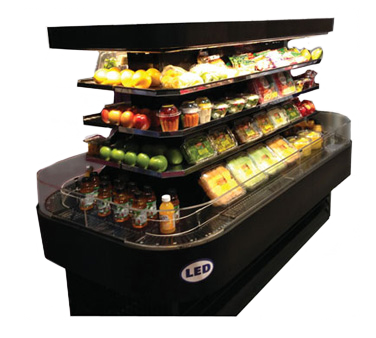 "superior-equipment-supply - Howard McCray Refrigerator - Howard-McCray Open Island Merchandiser 84""W"