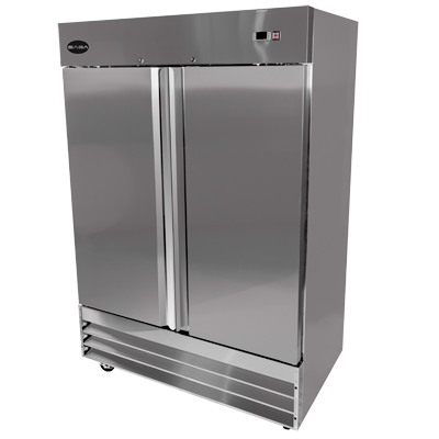 "SABA Two-Section Reach-In Refrigerator 54""W 47.0 cu.ft. 1321 Liter Capacity"