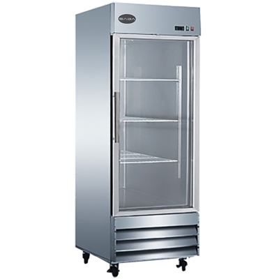 "SABA One-Section Reach-In Refrigerator Merchandiser 29""W 23.0 cu.ft."