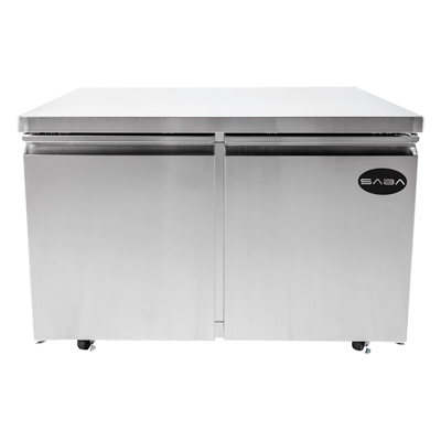 "SABA Two-Section Under-Counter Freezer 47-1/4""W 12.0 cu.ft."