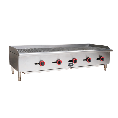 "SABA Radiant Charbroiler Gas Countertop 60""W"