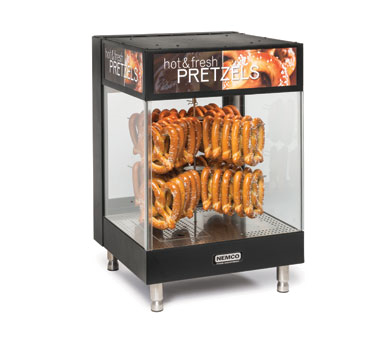 superior-equipment-supply - Nemco Inc - Nemco Countertop 2-Tier Pretzel Merchandiser