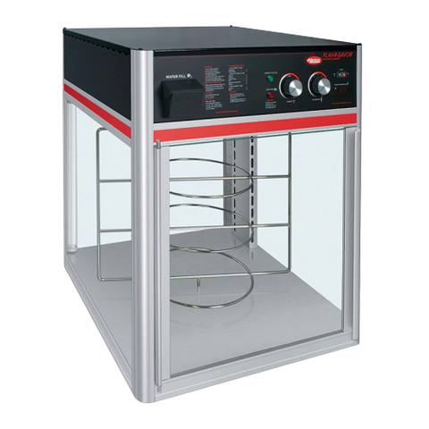 Hatco Flav-R-Savor® 2 Door 3 Tier Holding & Display Cabinet Anodized Aluminum