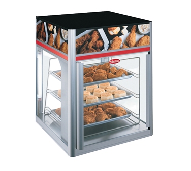 Hatco Flav-R-Savor® 2 Door 3 Tier Holding & Display Cabinet No Motor Anodized Aluminum