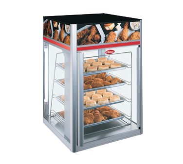 Hatco Flav-R-Savor® 2 Door 4 Tier Holding & Display Cabinet No Motor Anodized Aluminum