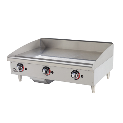 "Star-Max® Heavy Duty Griddle Gas Countertop 36"" W x 21"" D Stainless Steel"