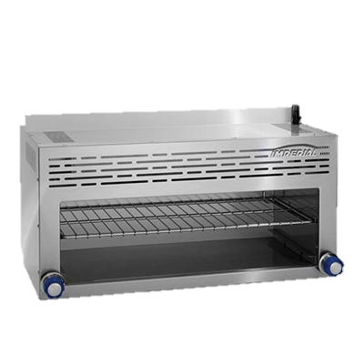 "Imperial Stainless Steel 72"" Wide Gas Cheesemelter"