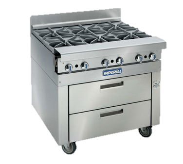 "superior-equipment-supply - Imperial - Imperial Stainless Steel 36"" Wide Refrigerated Base Equipment Stand"