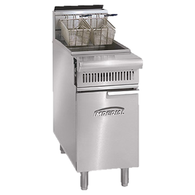 "superior-equipment-supply - Imperial - Imperial Stainless Steel Heavy Duty 19.5"" Wide Fryer Dump Station"