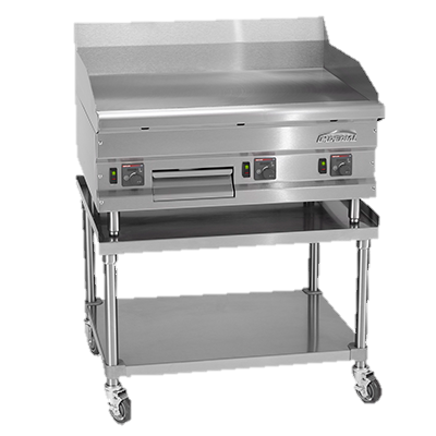 "superior-equipment-supply - Imperial - Imperial Stainless Steel 36"" Wide High Efficiency Gas Countertop Griddle"