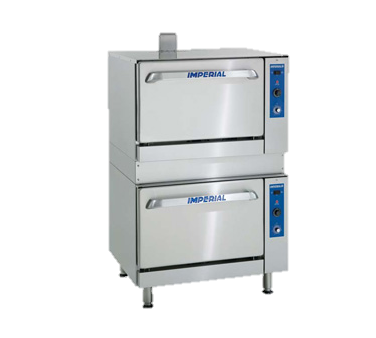 "superior-equipment-supply - Imperial - Imperial Stainless Steel 36"" Wide Restaurant Series Range Match One Standard One Convection Gas Oven"