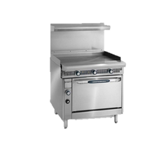 "superior-equipment-supply - Imperial - Imperial Stainless Steel Modular 36"" Wide Griddle Heavy Duty Gas Range"