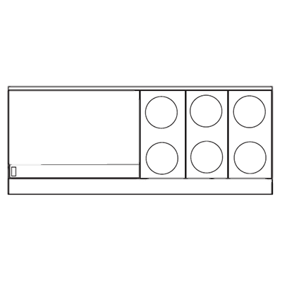 "superior-equipment-supply - Imperial - Imperial Stainless Steel Six Round Elements Thermostatic Griddle 76"" Wide Electric Range"