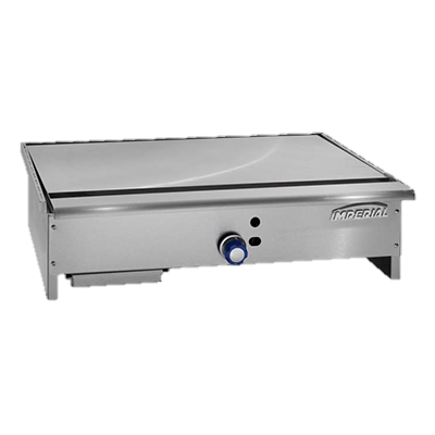 "superior-equipment-supply - Imperial - Imperial Stainless Steel 36"" Wide Teppan-Yaki Gas Griddle"
