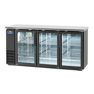 "superior-equipment-supply - Arctic Air - Arctic Air Three-Section Three Glass Door Back Bar Refrigerator 73""W"